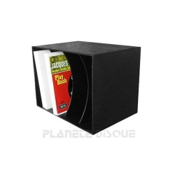 lp box caisse de rangement pour disques vinyles plan te. Black Bedroom Furniture Sets. Home Design Ideas