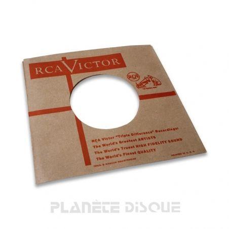 Pochette papier imitation 45T RCA No 3