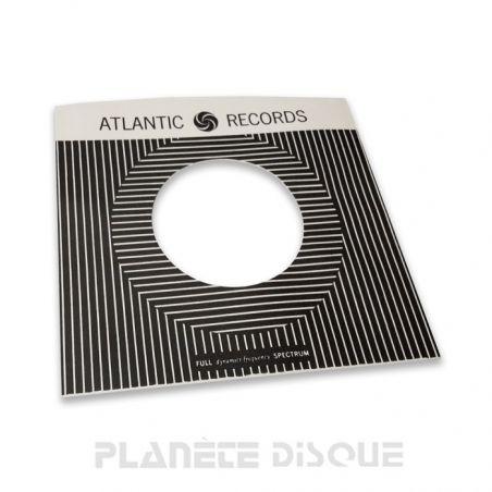 Pochette papier imitation 45T Atlantic Records