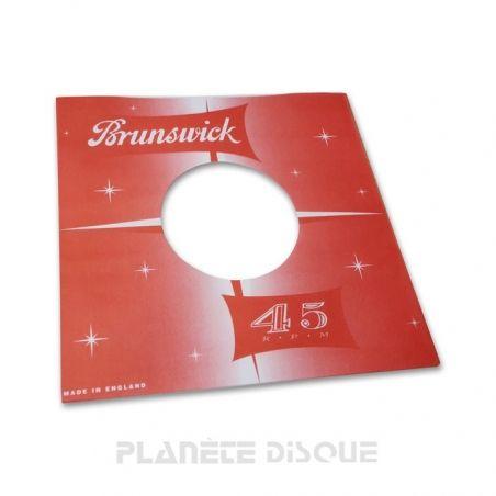 Pochette papier imitation 45T Brunswick