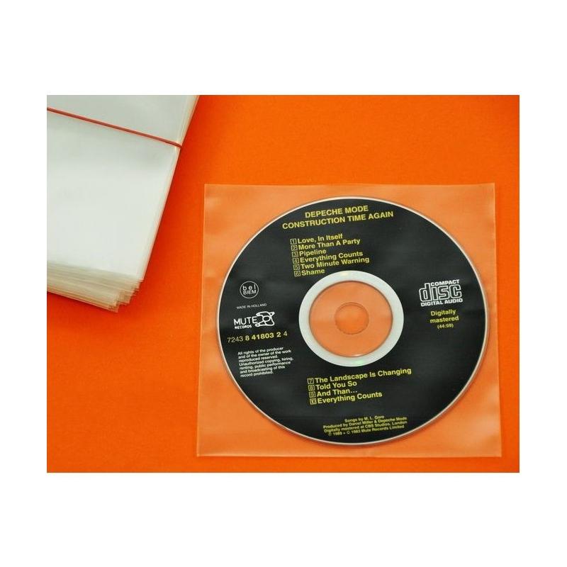 100 Pochettes CD & livret PE