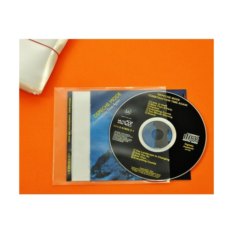 100 Hoezen CD, booklet & inlay soepel