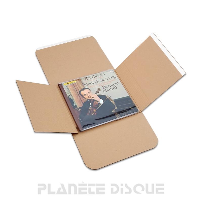 20 Cartons expédition Four-Lax 33T vinyle avec rabats adhésifs