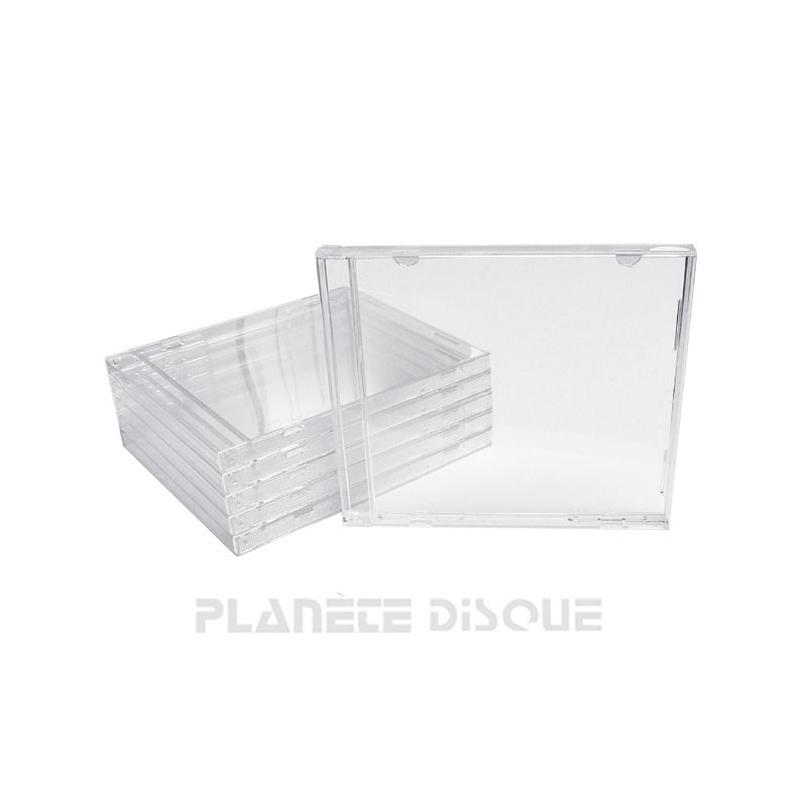 25 Boîtiers album CD Deluxe sans plateau