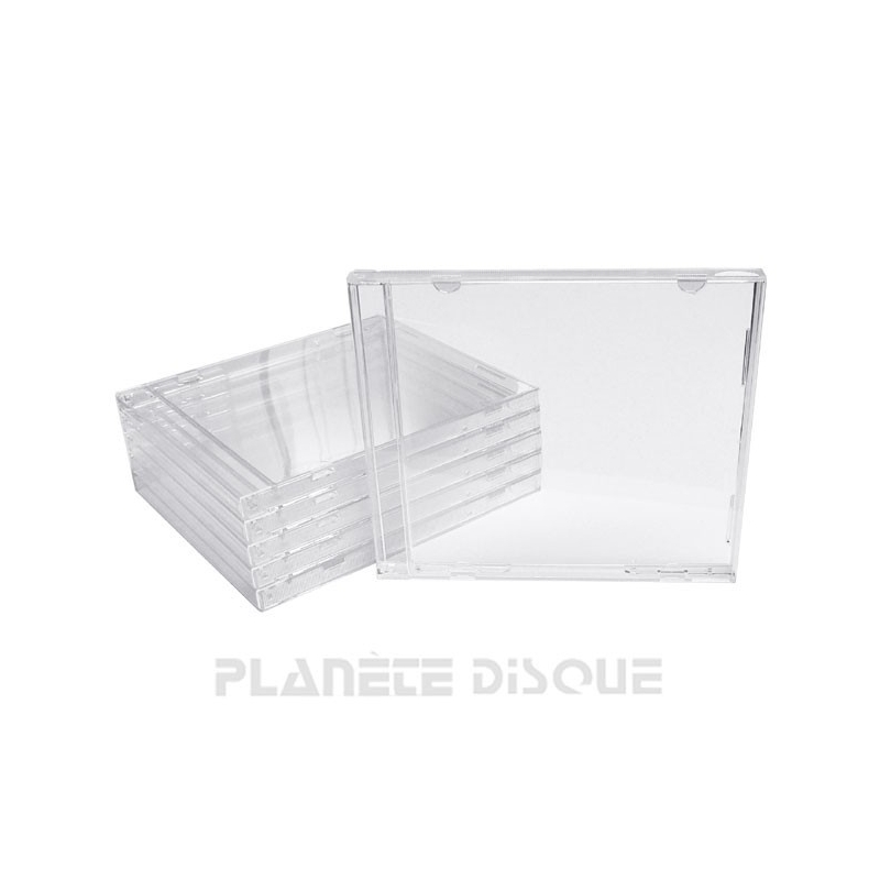 25 CD doosjes Jewel Case Deluxe zonder tray