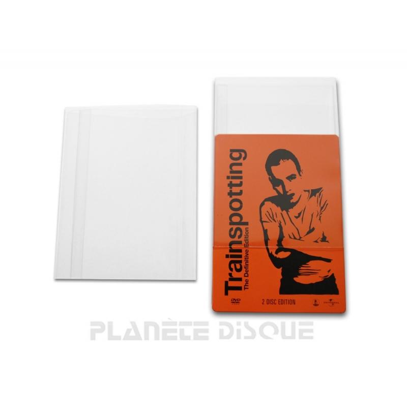 10 Bescherm hoezen PVC voor DVD Steelbook