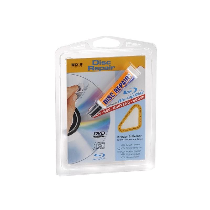 Disc Repair polijstpasta voor het reparen van CDs