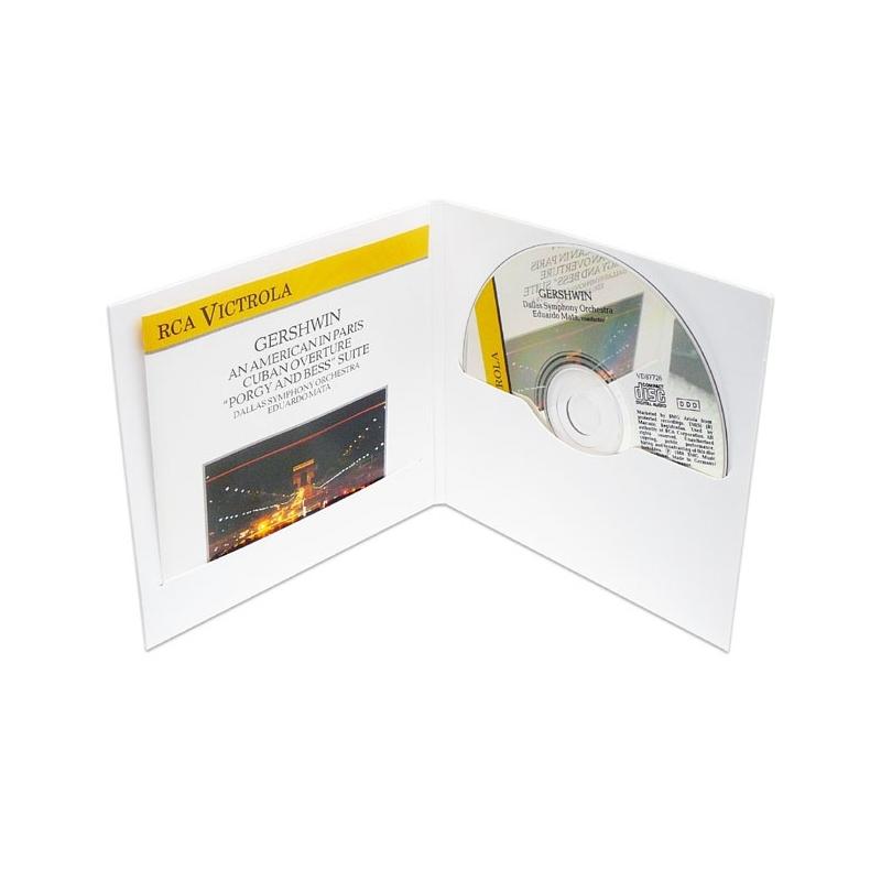 10 Pochettes CD Digifile (2 volets, 2 fentes)