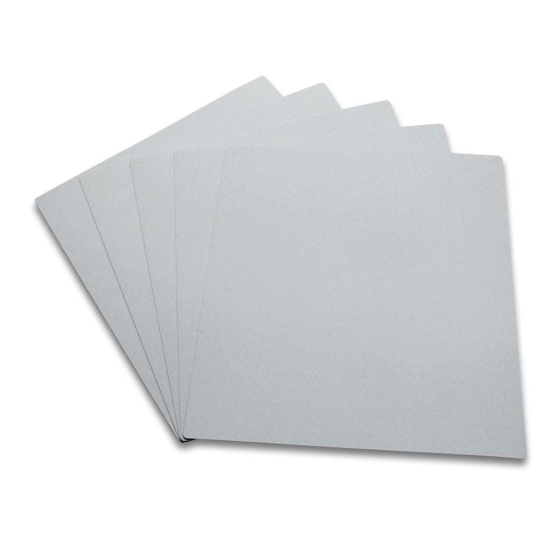 10 Intercalaires identification pour 33T gris