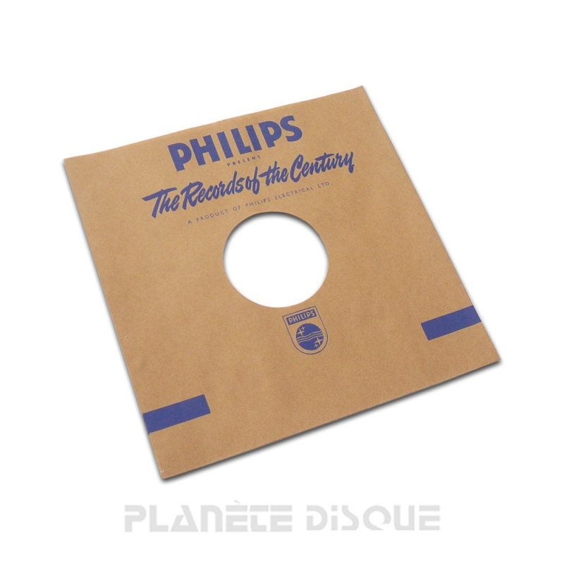 Pochette papier imitation 78T Philips