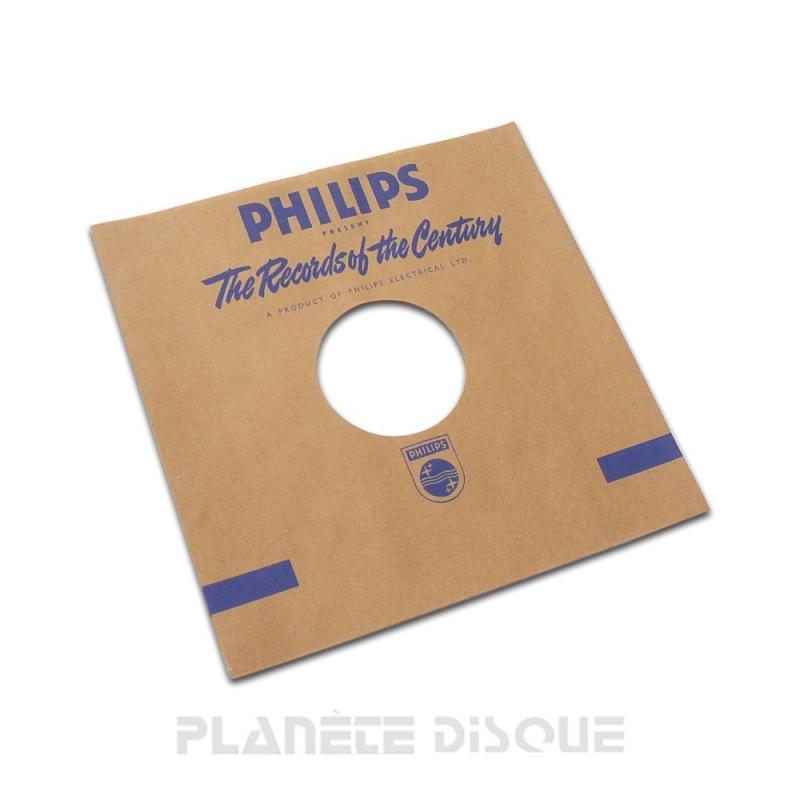 Pochette papier imitation 78T Philips