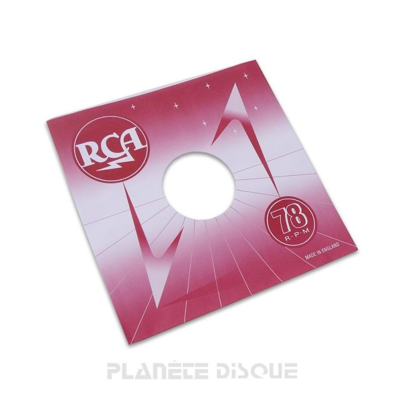 Hoes papier voor 78 toeren plaat (imitatie RCA)