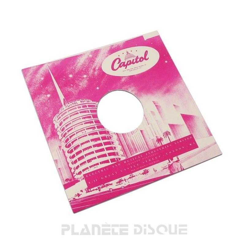 Pochette papier imitation 78T Capitol