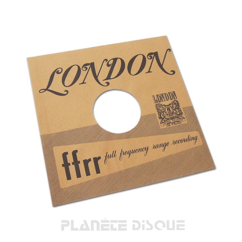 Pochette papier imitation 78T London