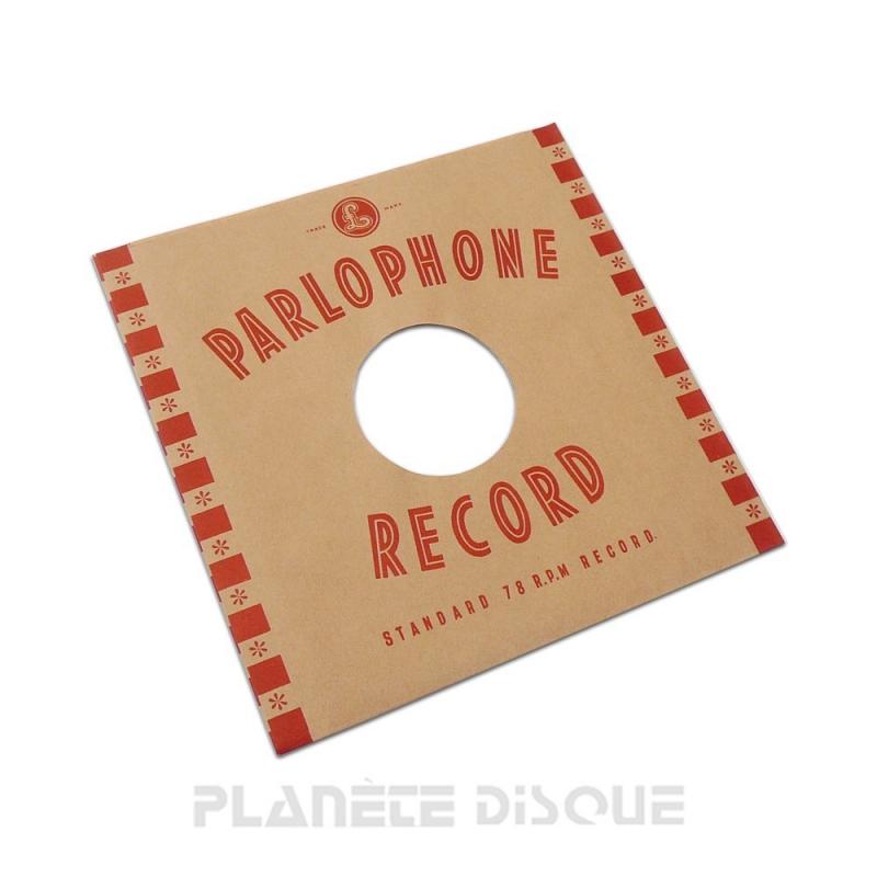 Hoes papier voor 78 toeren plaat (imitatie Parlophone)
