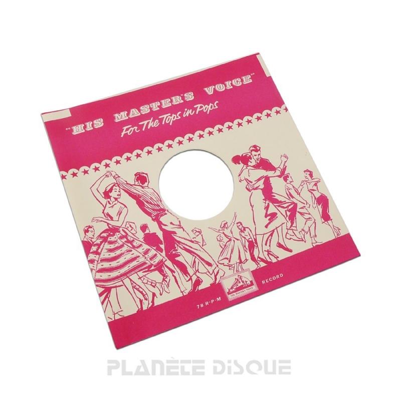 Pochette papier imitation 78T HMV