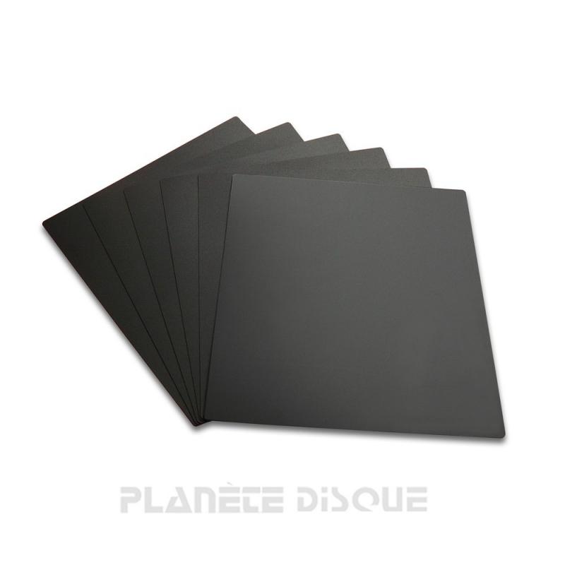 10 Intercalaires identification pour 33T noirs