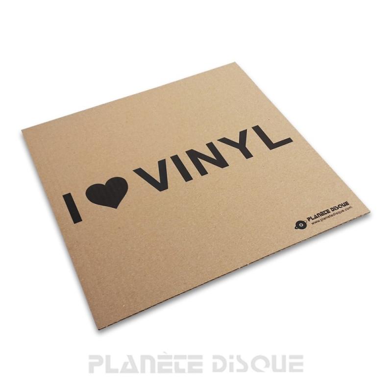 50 Karton opvulplaten voor LP verzenddozen