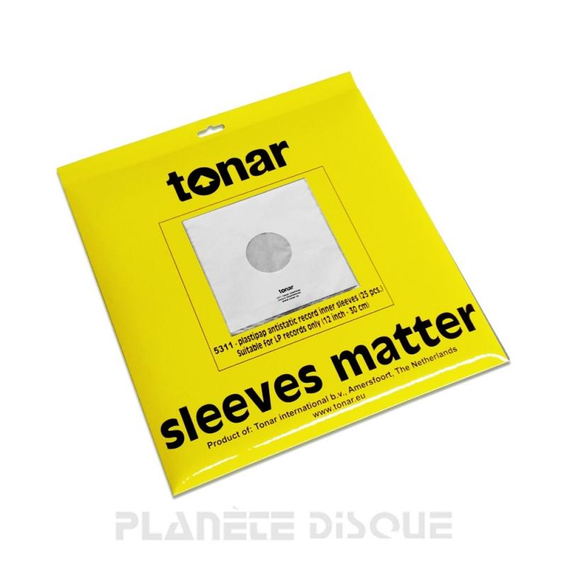 25 LP binnen hoezen Tonar Plastipap