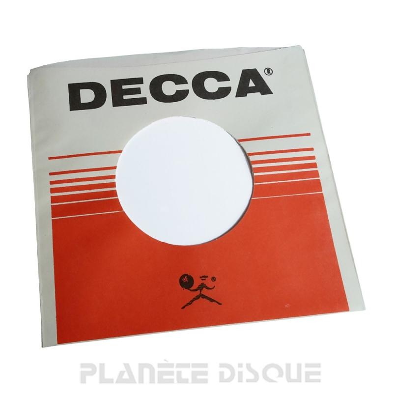 Hoes papier voor 45 toeren single (imitatie Decca No 2)