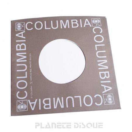 Hoes papier voor 45 toeren single (imitatie Columbia No 1)
