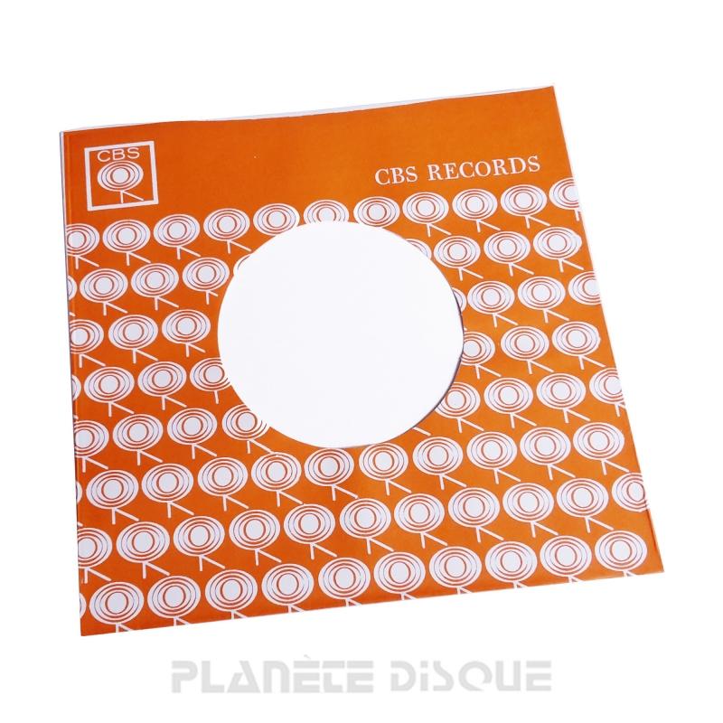 Pochette papier imitation 45T Columbia No 2