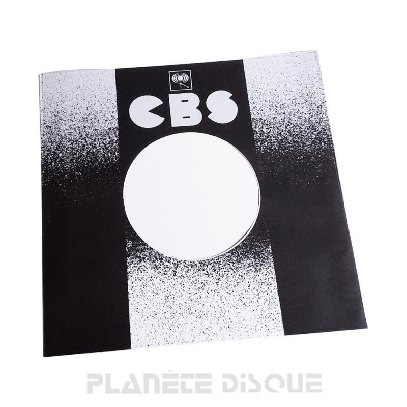 Pochette papier imitation 45T CBS No 1
