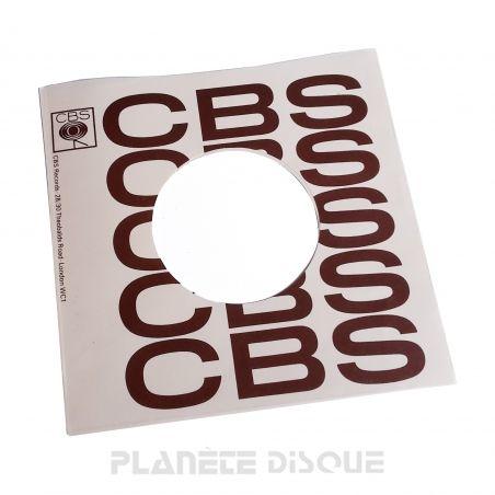 Hoes papier voor 45 toeren single (imitatie CBS No 2)