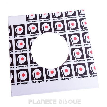 Hoes papier voor 45 toeren single (imitatie Philips No 2)