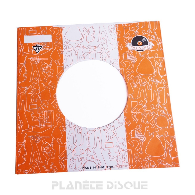 Pochette papier imitation 45T Phonogram