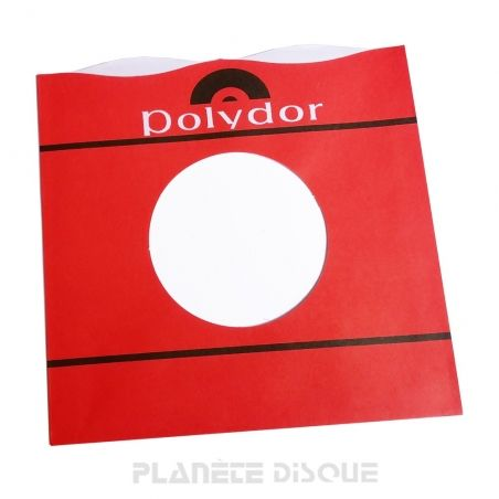 Pochette papier imitation 45T Polydor No 1