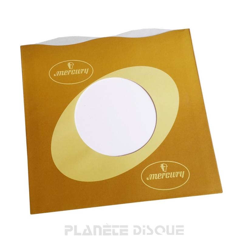 Hoes papier voor 45 toeren single (imitatie Mercury No 1)
