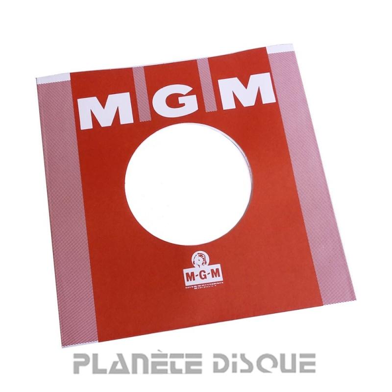 Hoes papier voor 45 toeren single (imitatie MGM No 1)