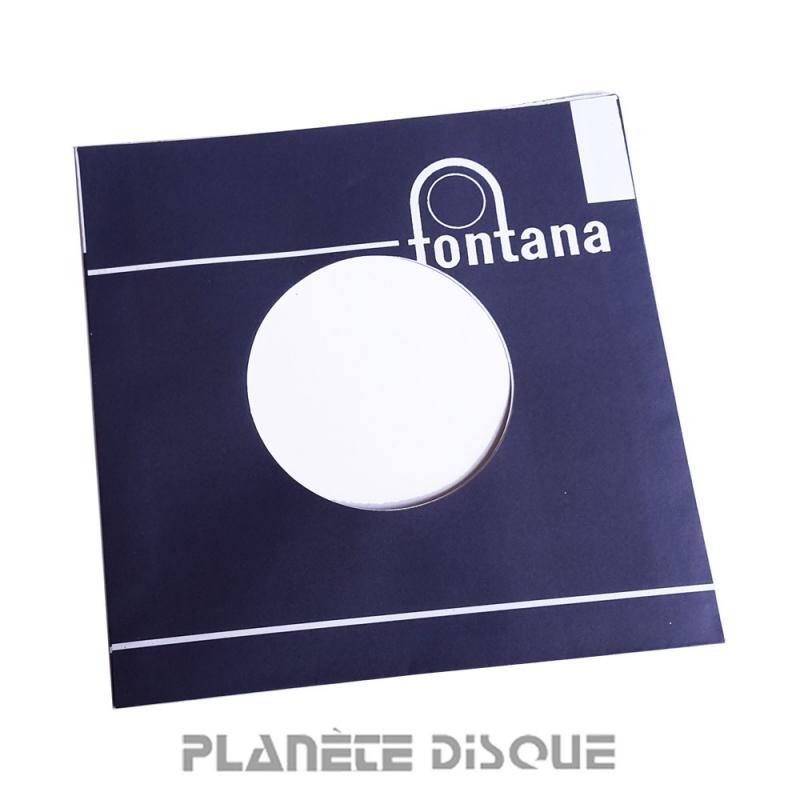 Hoes papier voor 45 toeren single (imitatie Fontana No 1)