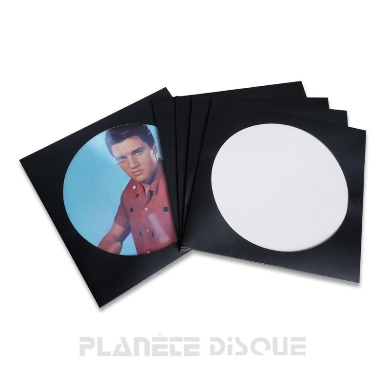 25 Pochettes carton picture vinyle 33T noires
