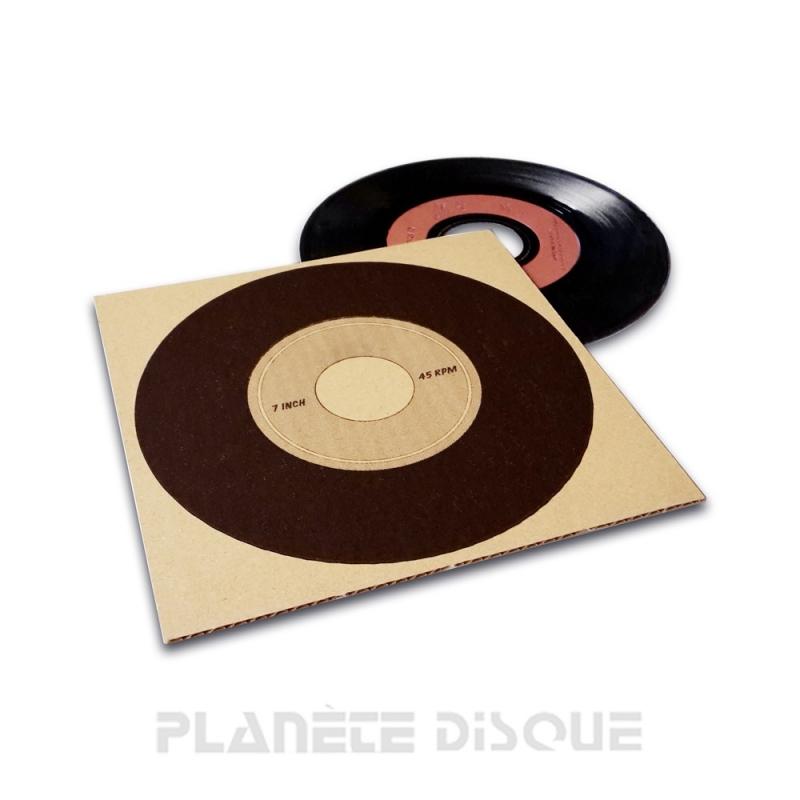 50 Karton opvulplaten voor 7 inch singles