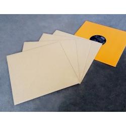 50 Karton opvulplaten voor LP verzenddozen zonder opdruk