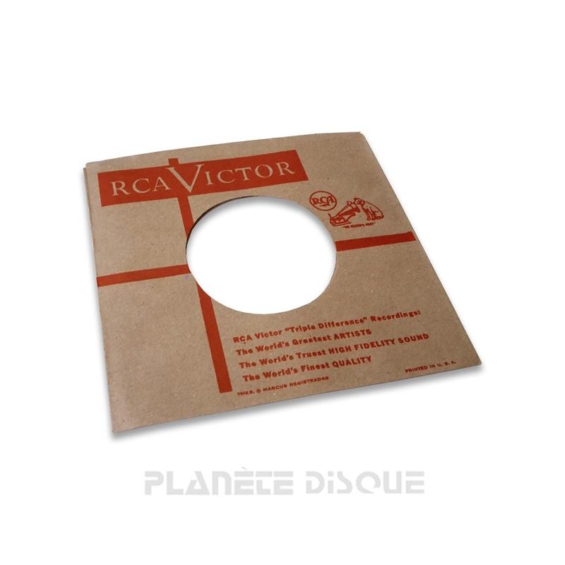 Pochette papier imitation 45T Fontana No 1