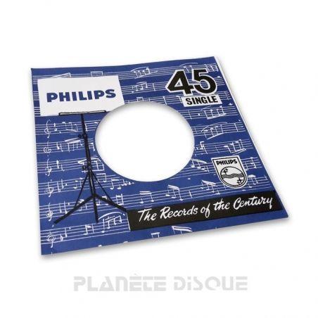 Hoes papier voor 45 toeren single (imitatie Philips No 3)