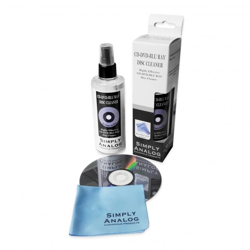 Liquide nettoyage CD-DVD-BLU RAY sans alcool Simply Analog
