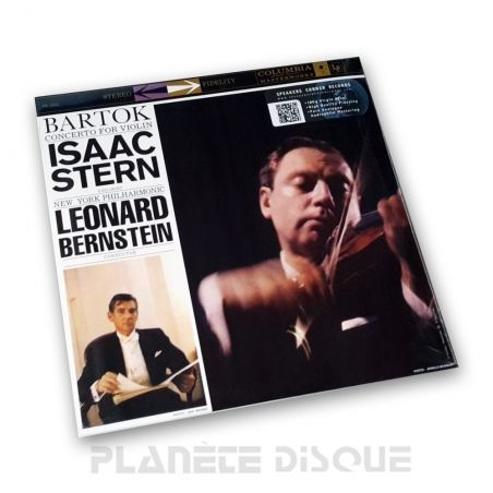 Bartok: Violin Concerto Stern / Bernstein Speakers Corner LP Columbia MS 6002
