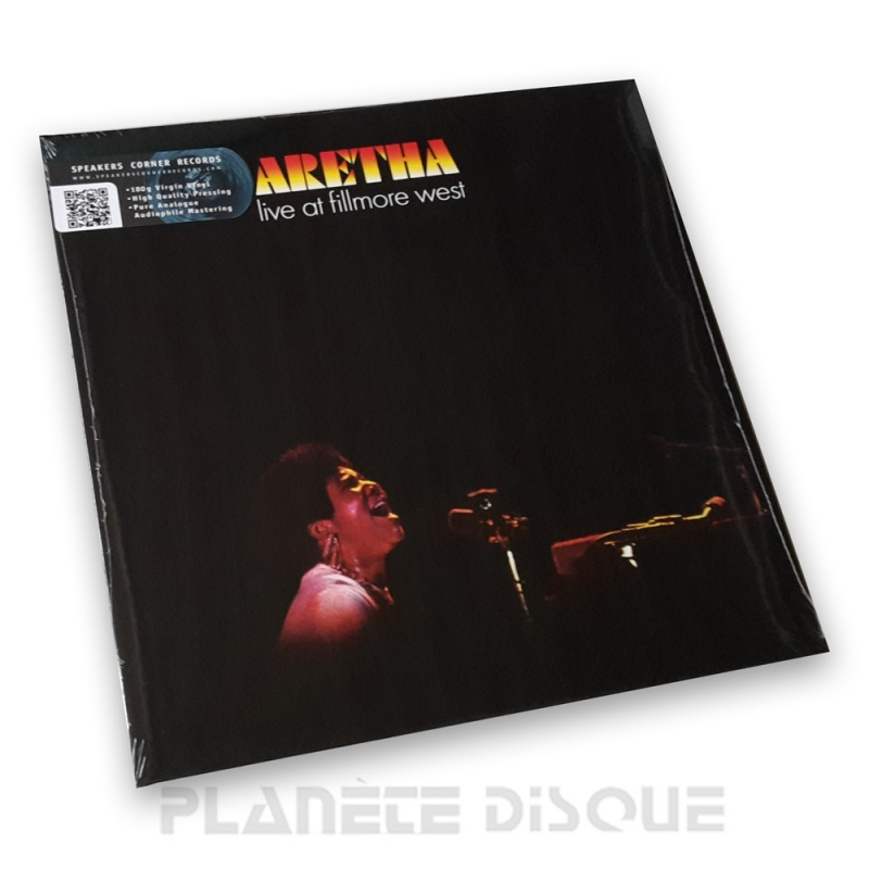 Aretha Franklin: Live At Fillmore West Speakers Corner LP Atlantic SD 7205