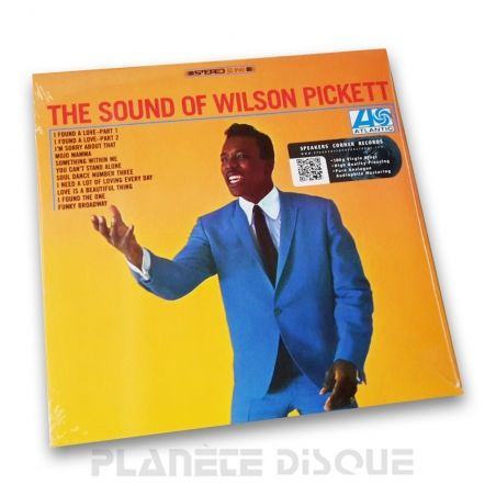 The Sound Of Wilson Pickett Speakers Corner LP Atlantic SD 8145