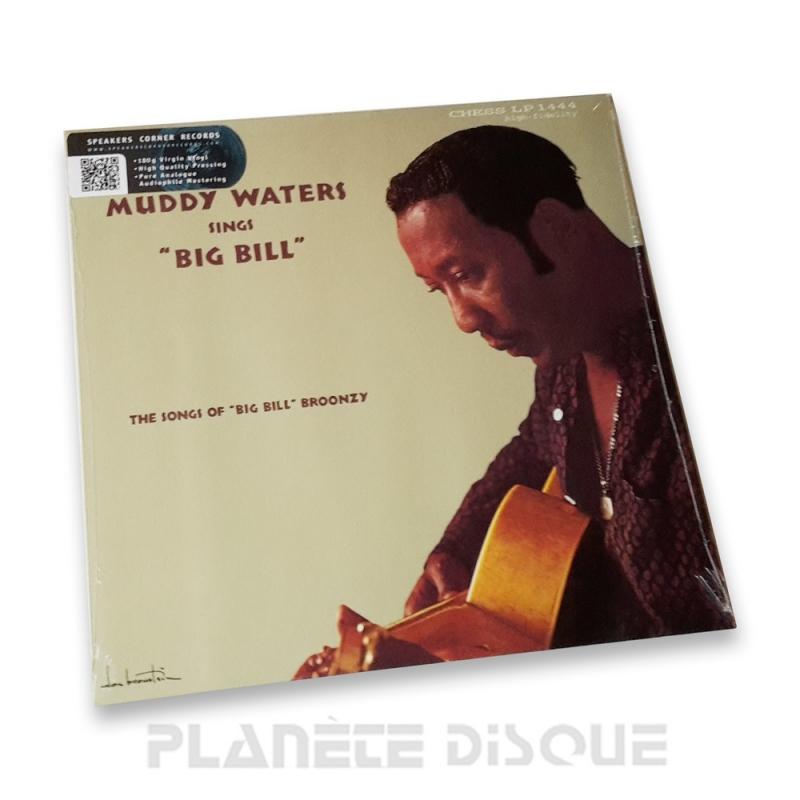 Muddy Waters Sings Big Bill Broonzy Speakers Corner LP Chess LP-1444