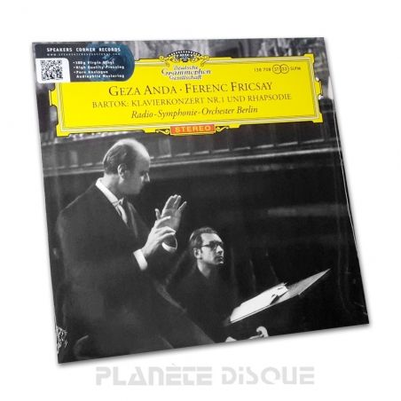 Bartok: Piano Concerto No. 1 Anda / Fricsay Speakers Corner LP DGG SLPM 138708