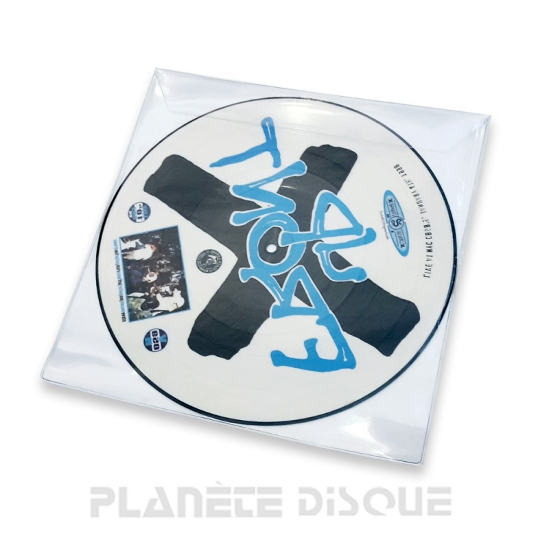 LP Deluxe plastic platenhoes voor single 10 inch Picture Disc PVC