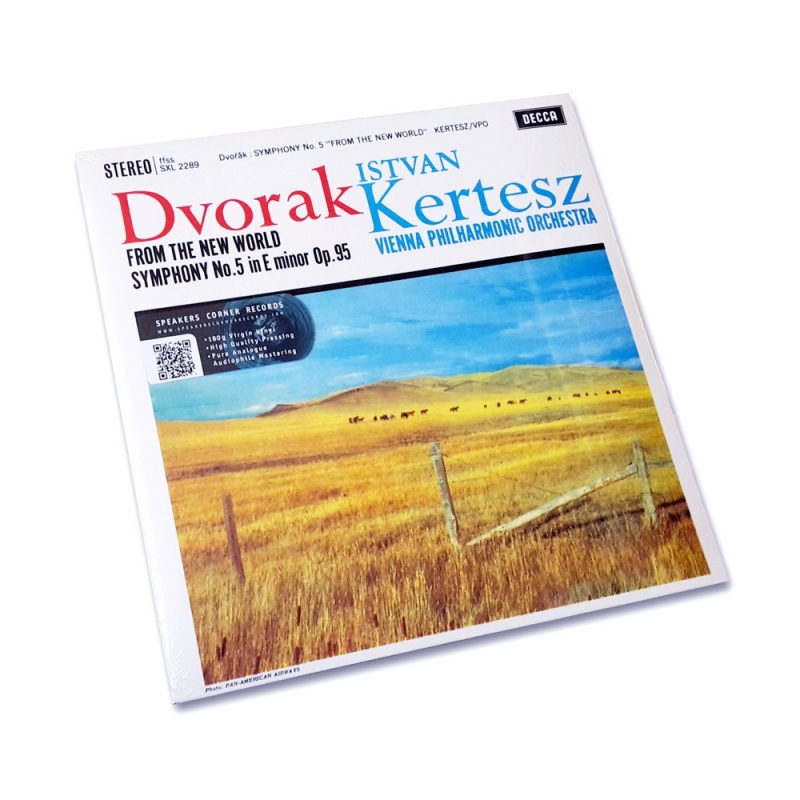 Dvorák: Symphony No. 9 Kertesz Speakers Corner LP Decca SXL 2289