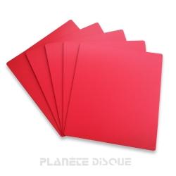 10 Intercalaires identification pour 45T rouges