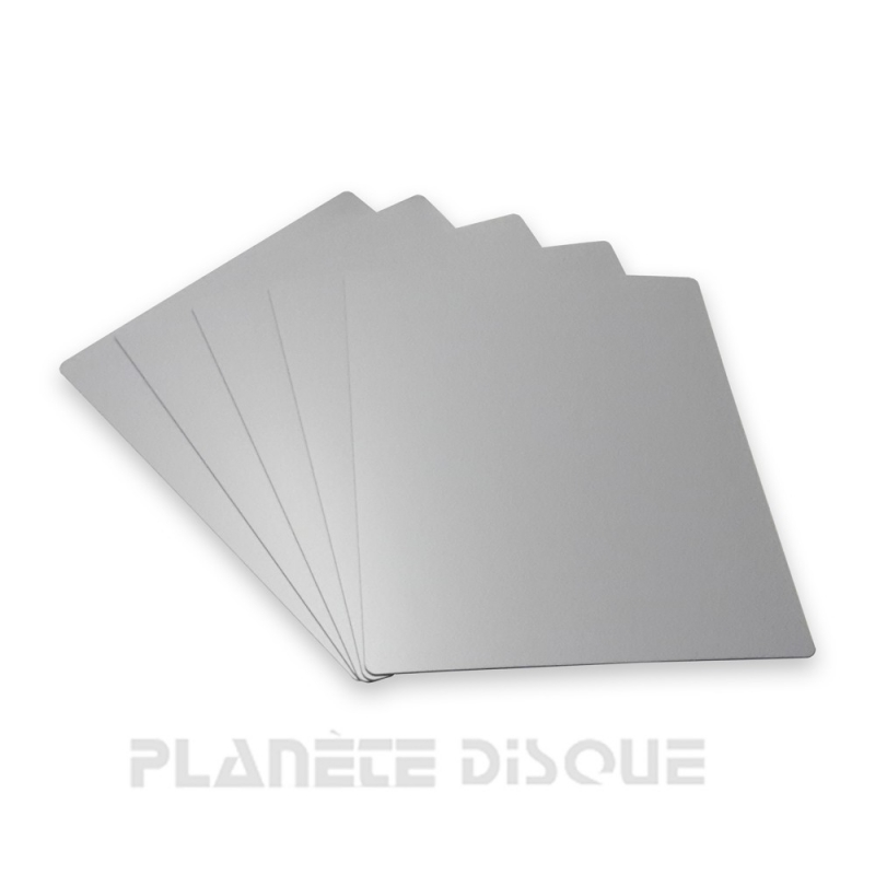 10 Intercalaires identification pour 45T gris