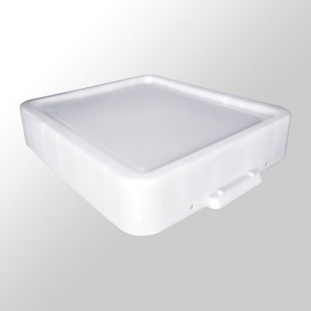 Couvercle de remplacement Really Useful Box 35 litre XL White Strong